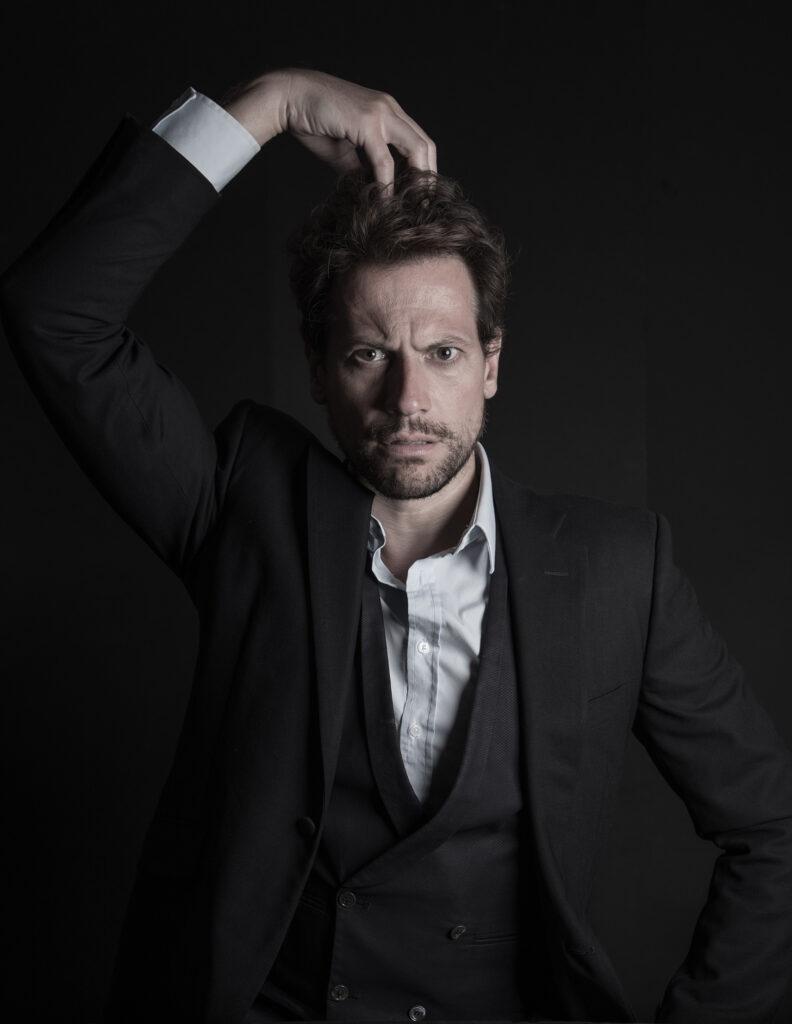 ioan gruffudd stan laurel show welsh actor celebrity portrait