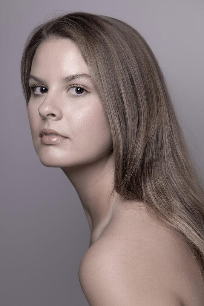 hollywood beauty portrait