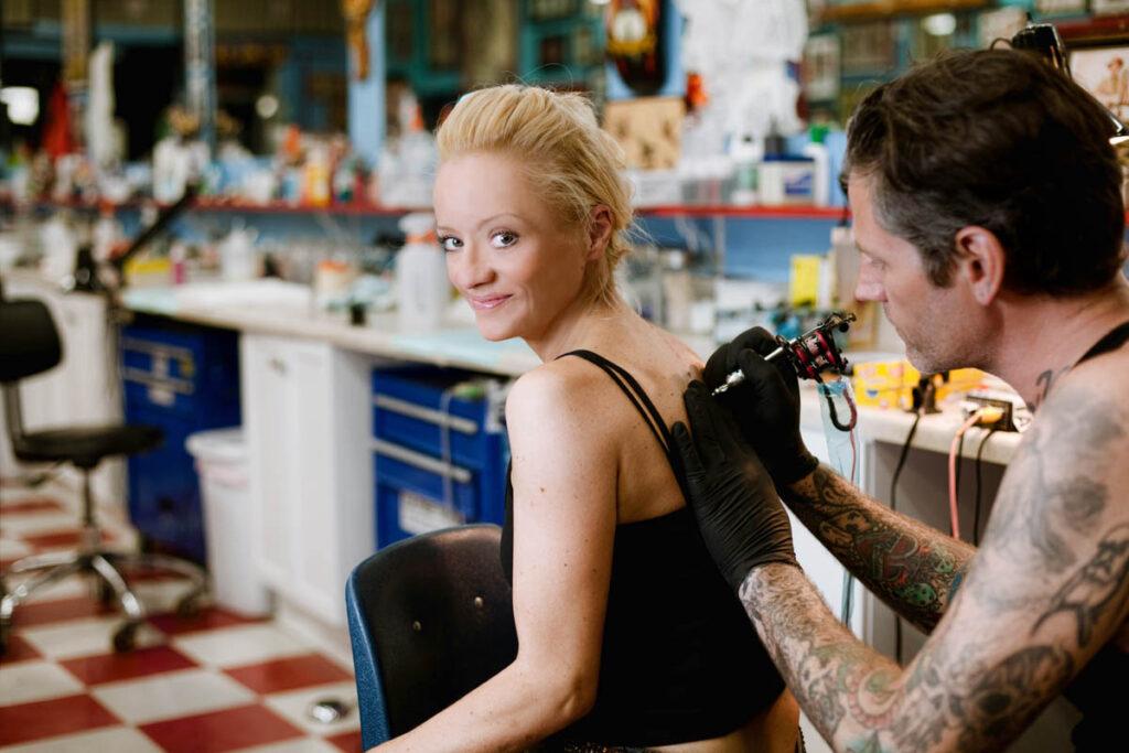LA celebrity portrait photographer lucy davis sabrina witch