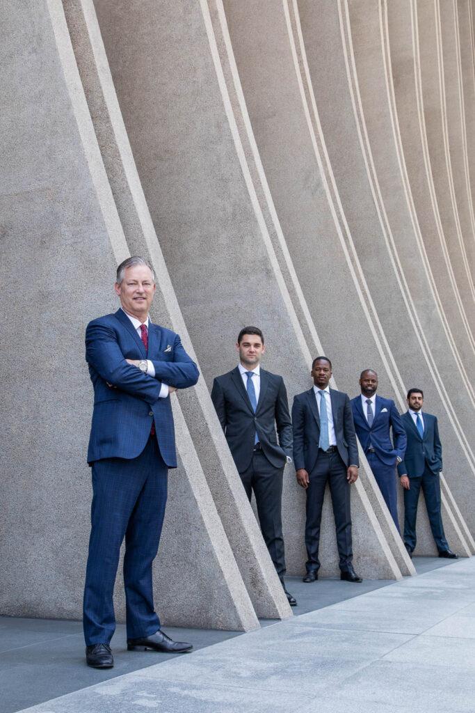 century city corporate group portrait