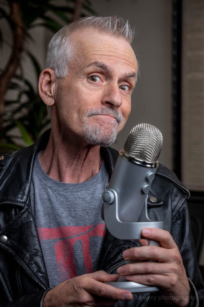 rob paulsen, pinky and the brain, los angeles best editorial portrait