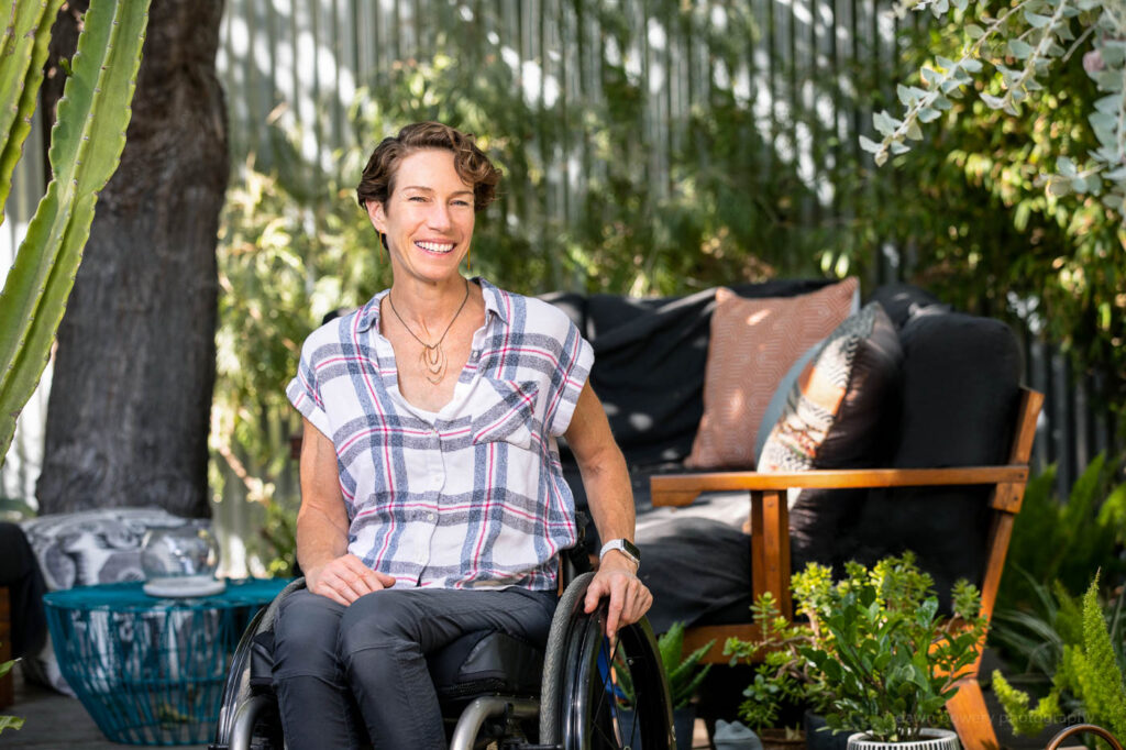 disability new mobility magazing pasadena editorial portrait photographer