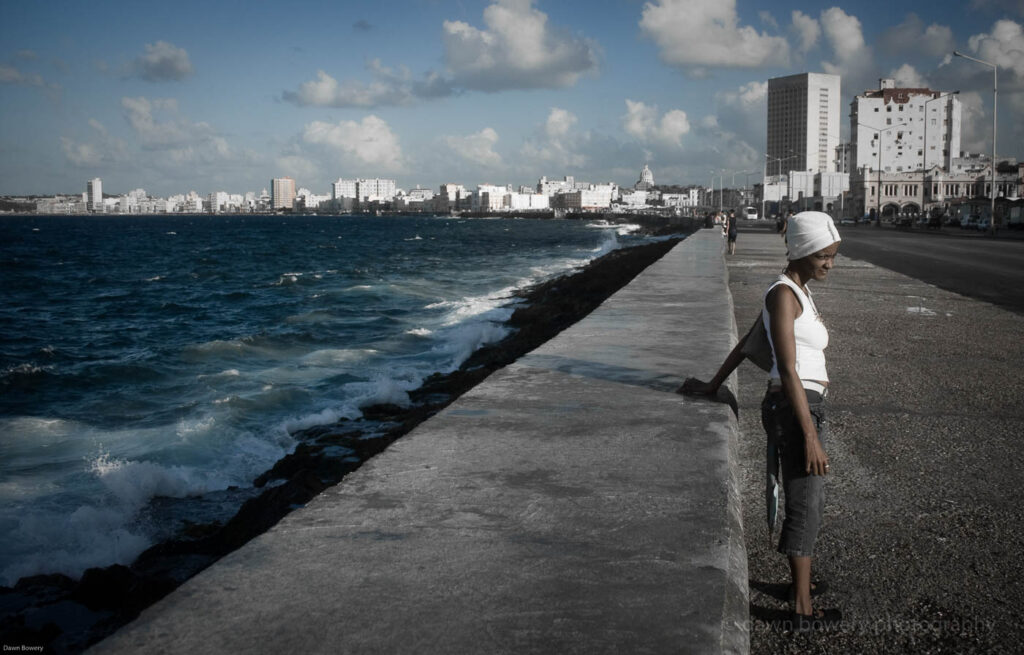 cuba the waterfront, fine art, travel photography