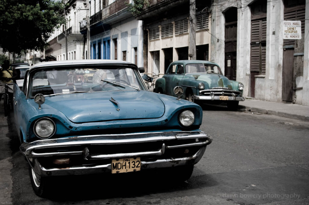 cuba street scene, fine art, travel photography
