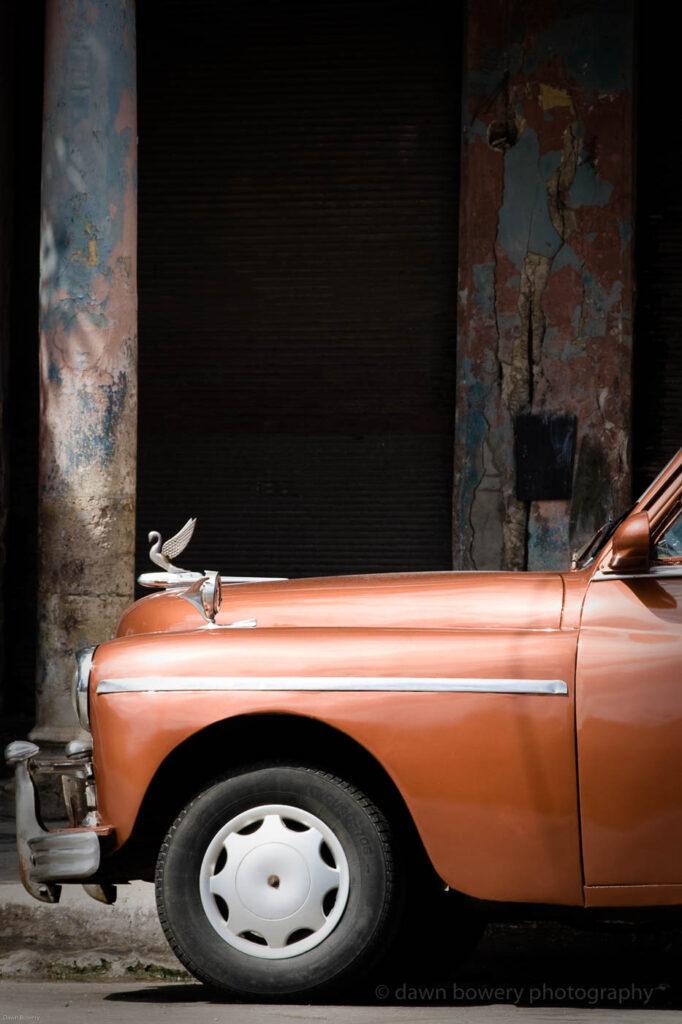 cuba, fine art, bronze car, travel photography