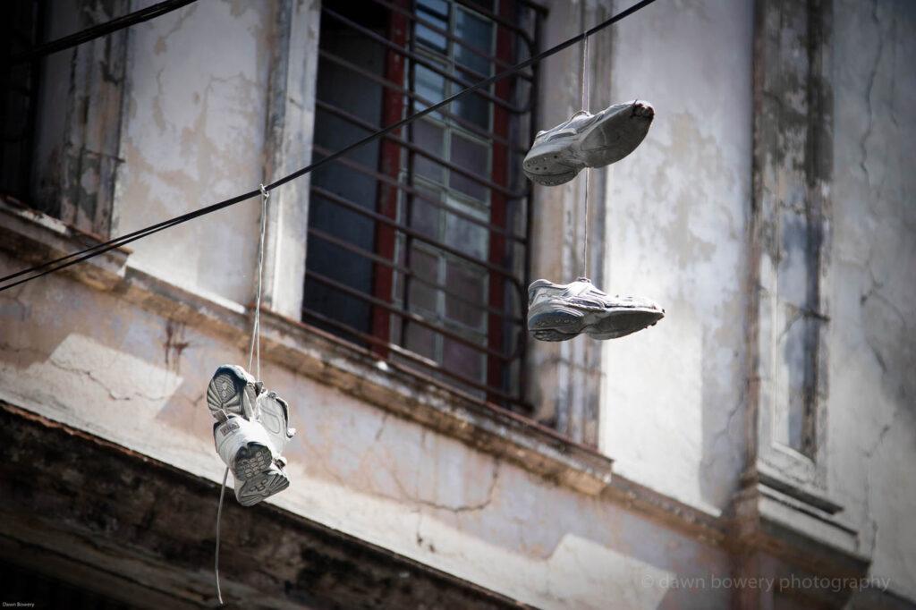 cuba, street shoes, fine art, travel photography