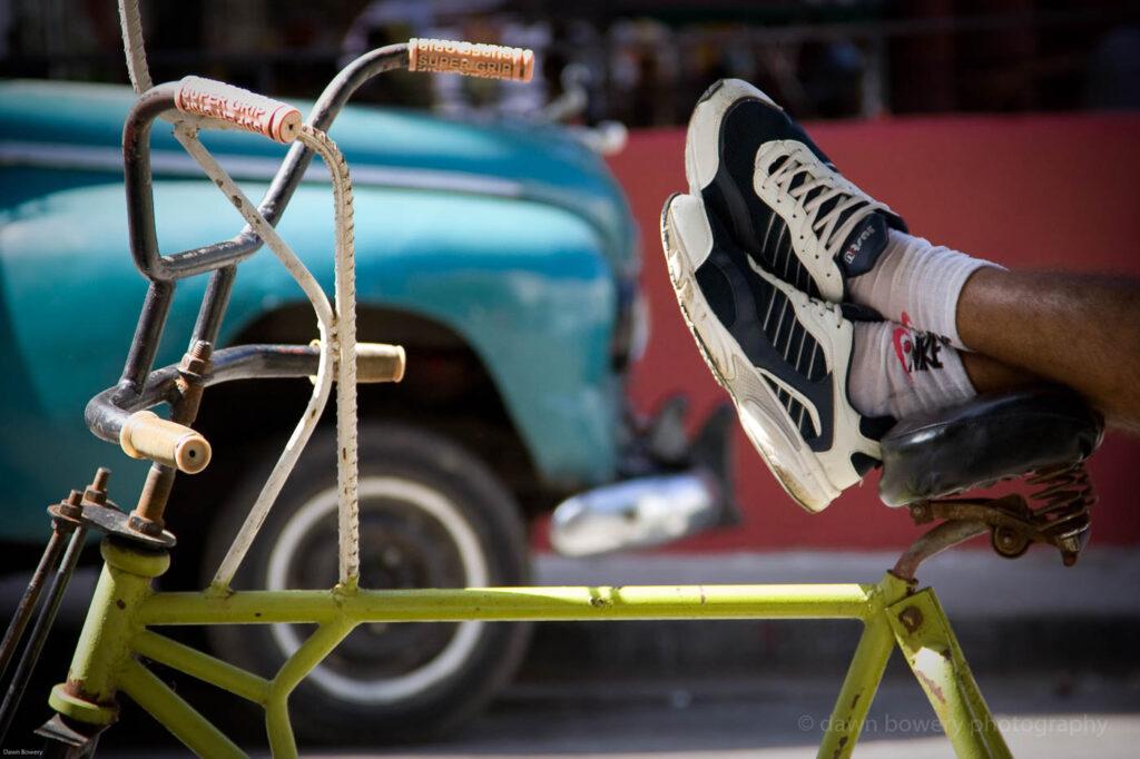 cuba, bicycle, fine art, travel photography