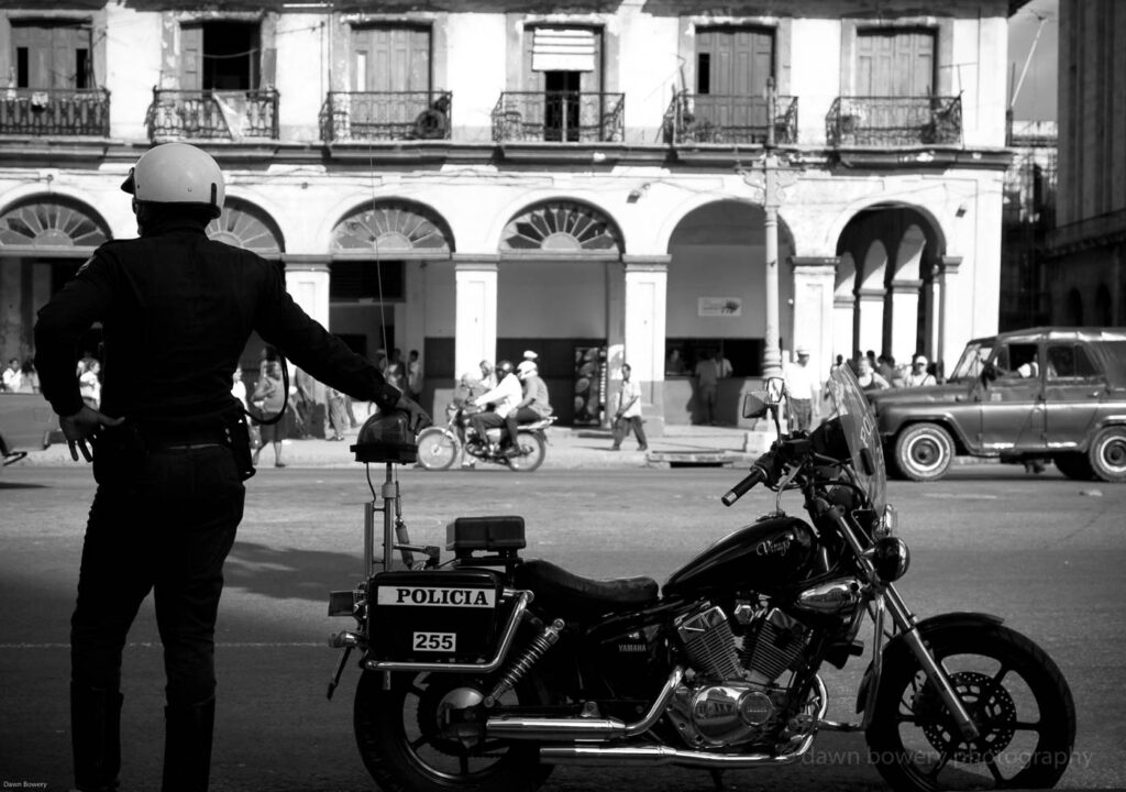 cuba, policia, fine art, travel