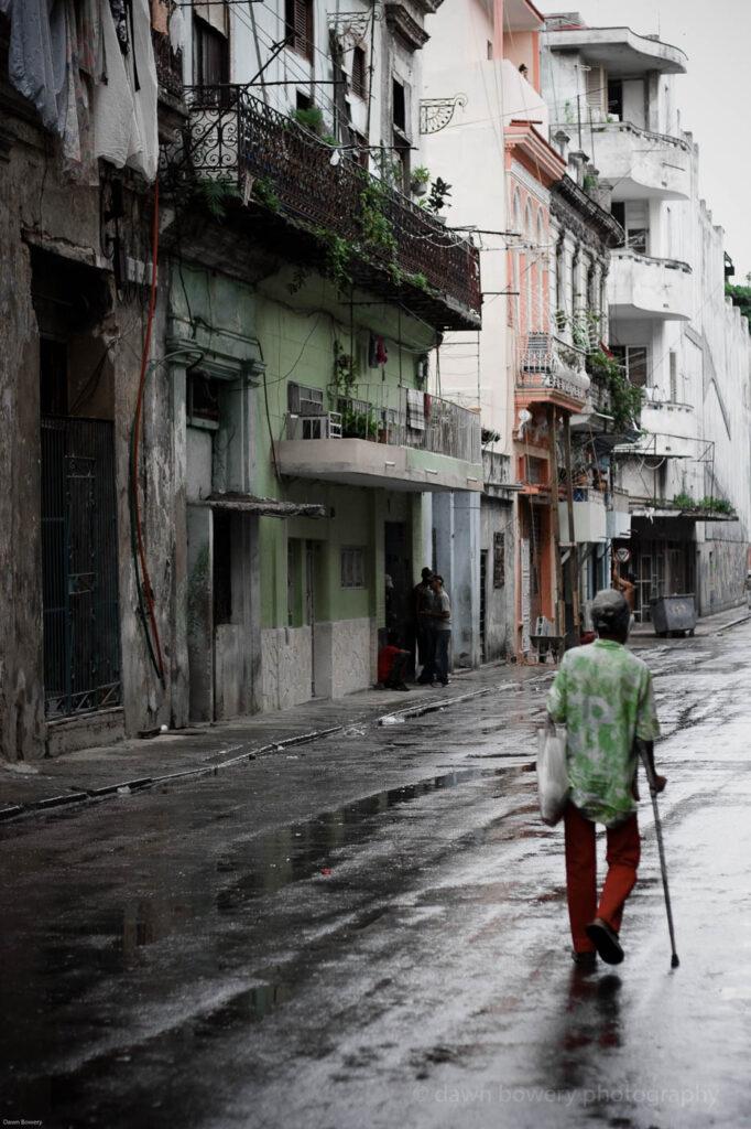 cuba rain, fine art, travel
