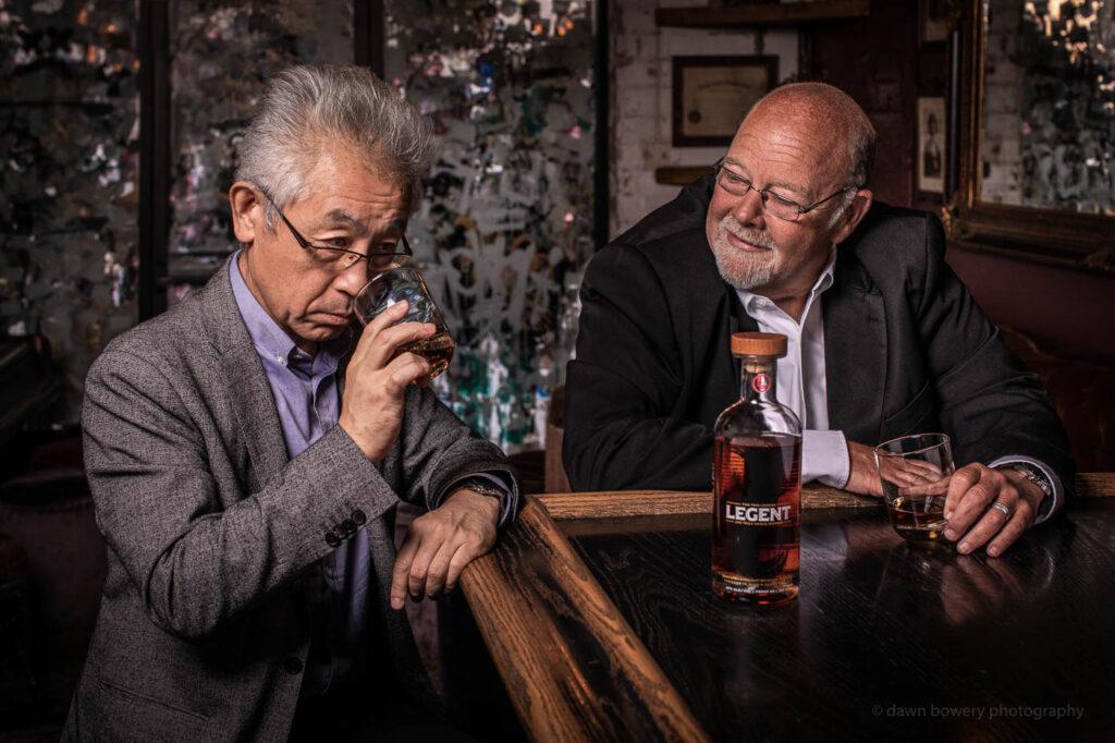 legent whiskey jim beam editorial portrait photographer