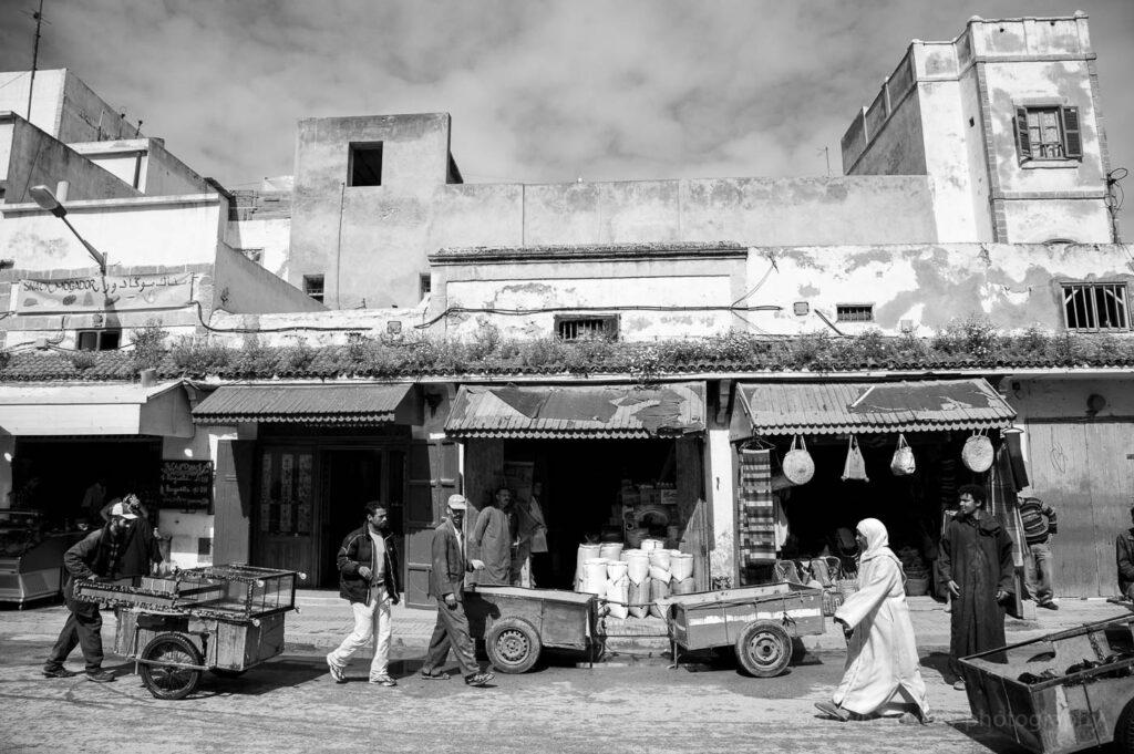 morocco fine art street scene