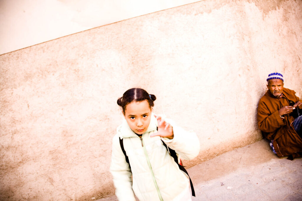 morocco fine art angry child