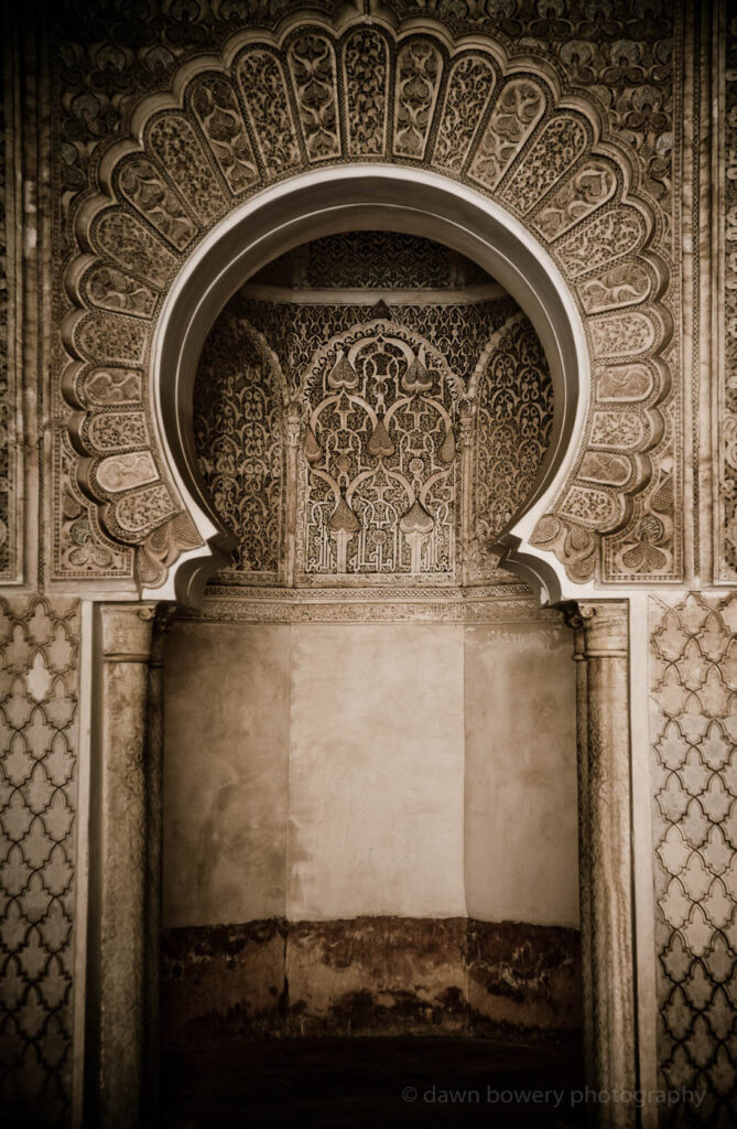 morocco fine art archway
