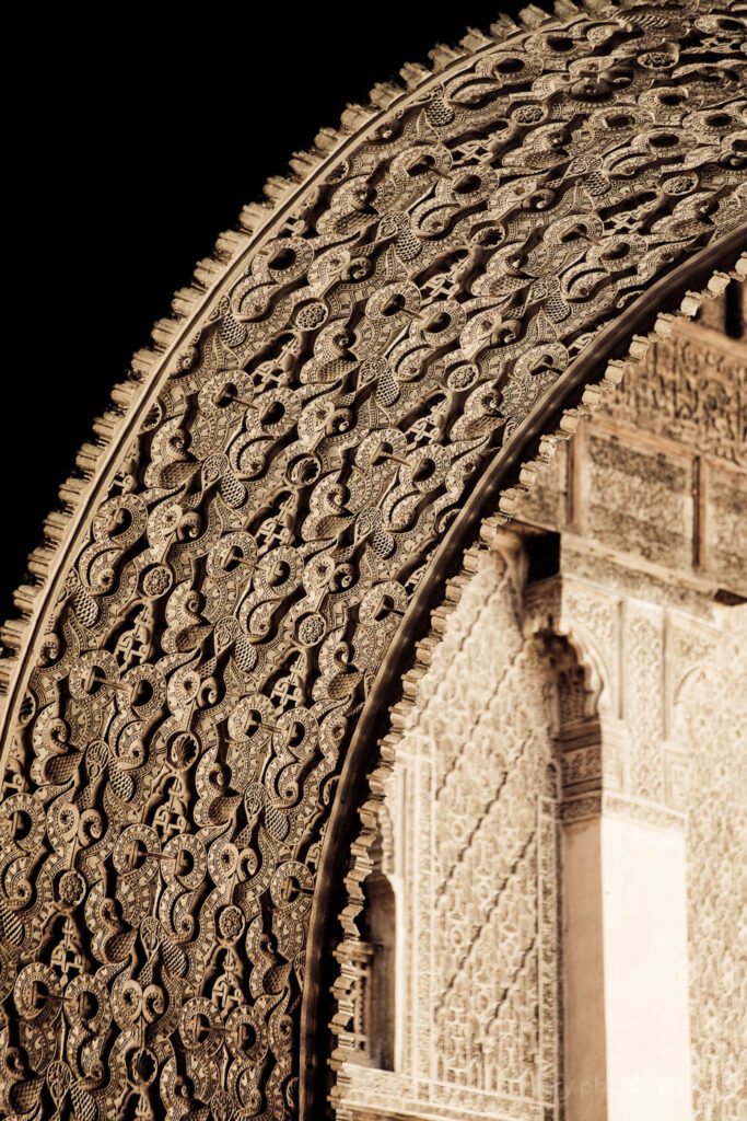morocco fine art archway close up