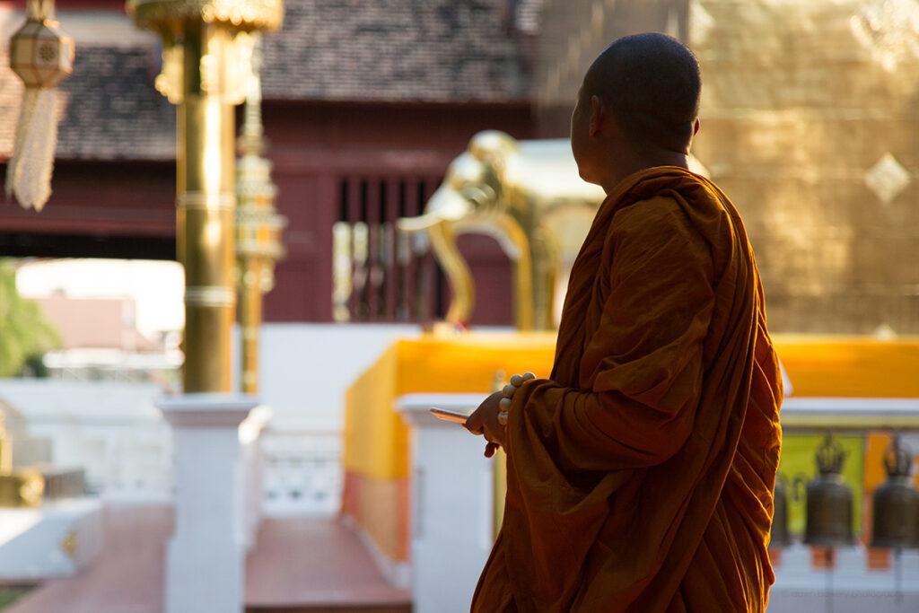 thailand monk temple