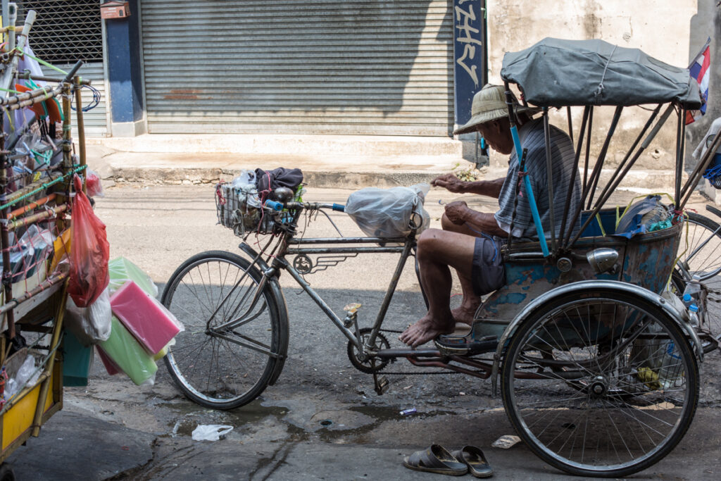 thailand bicycle street