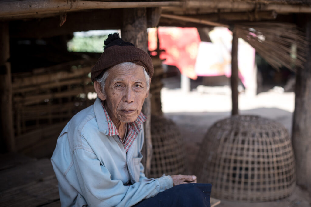 thailand chiang mai old man