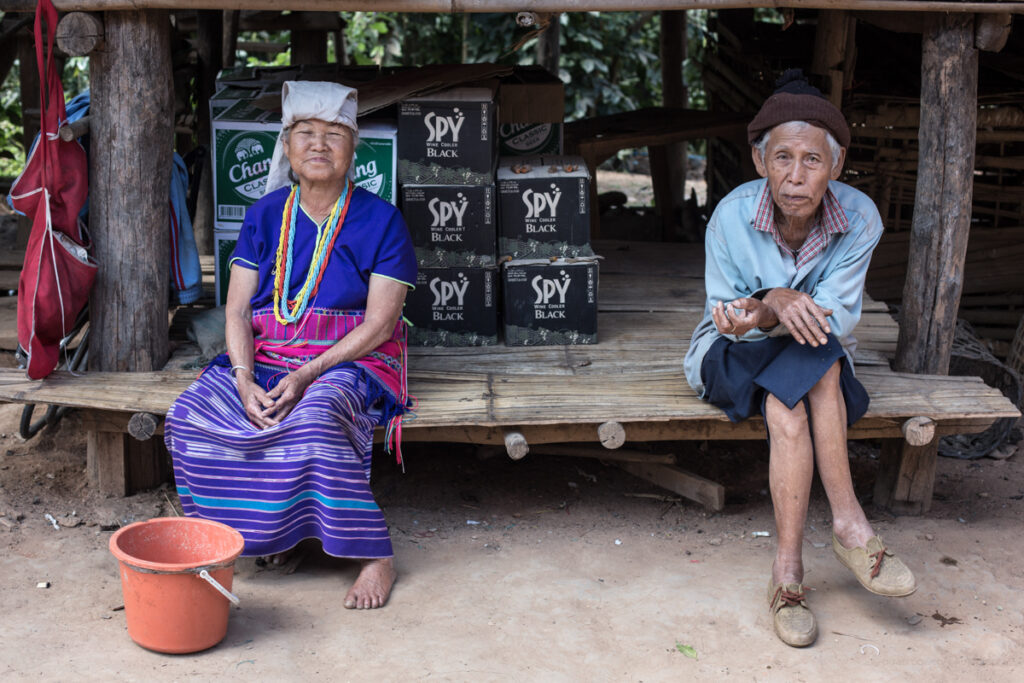 thailand chiang mai old couple
