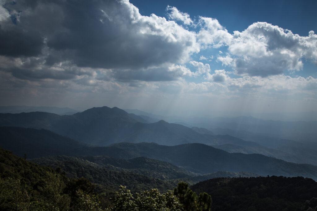 thailand chiang mai mountain view