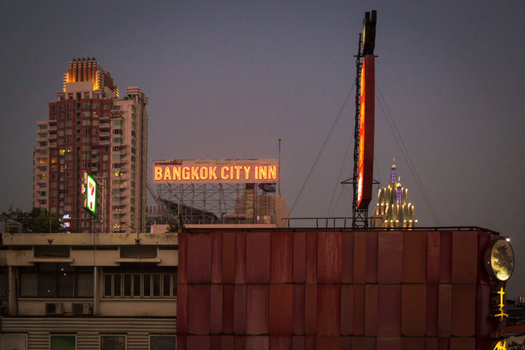 thailand bangkok city night time