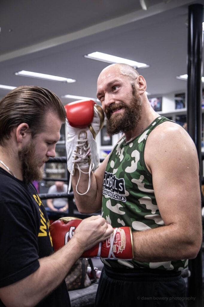 tyson fury editorial boxing portrait