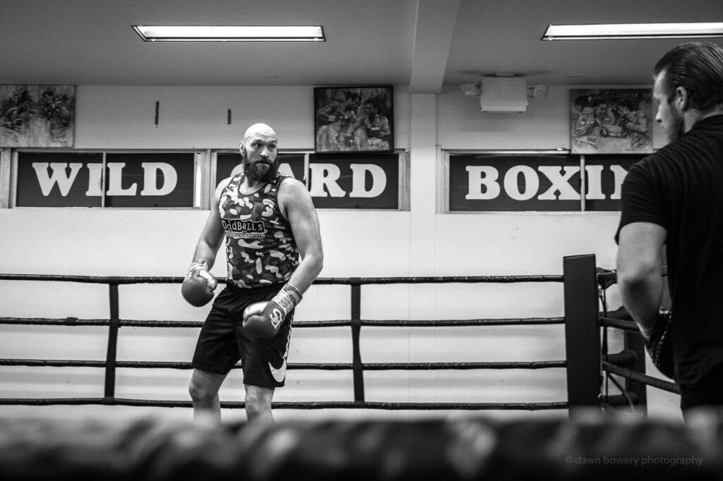 hollywood tyson fury boxing portrait