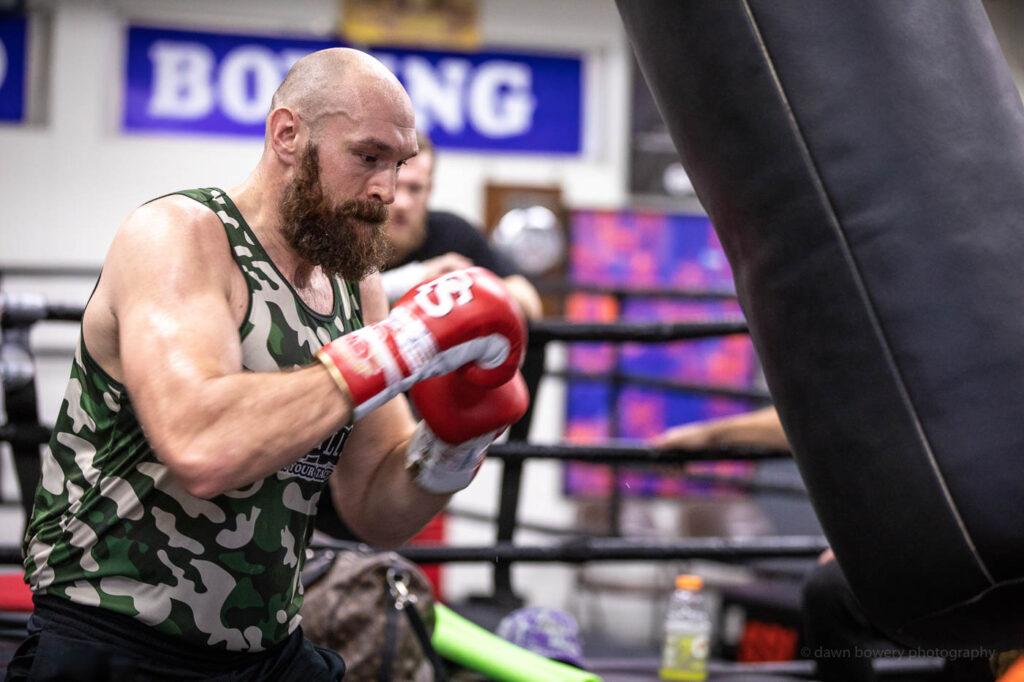 wildcard boxing gym editorial portrait hollywood dawn bowery