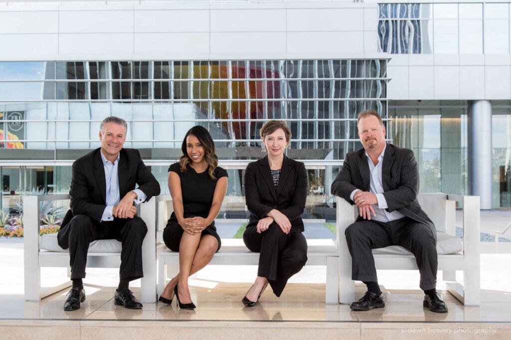 UBS corporate group portrait century city