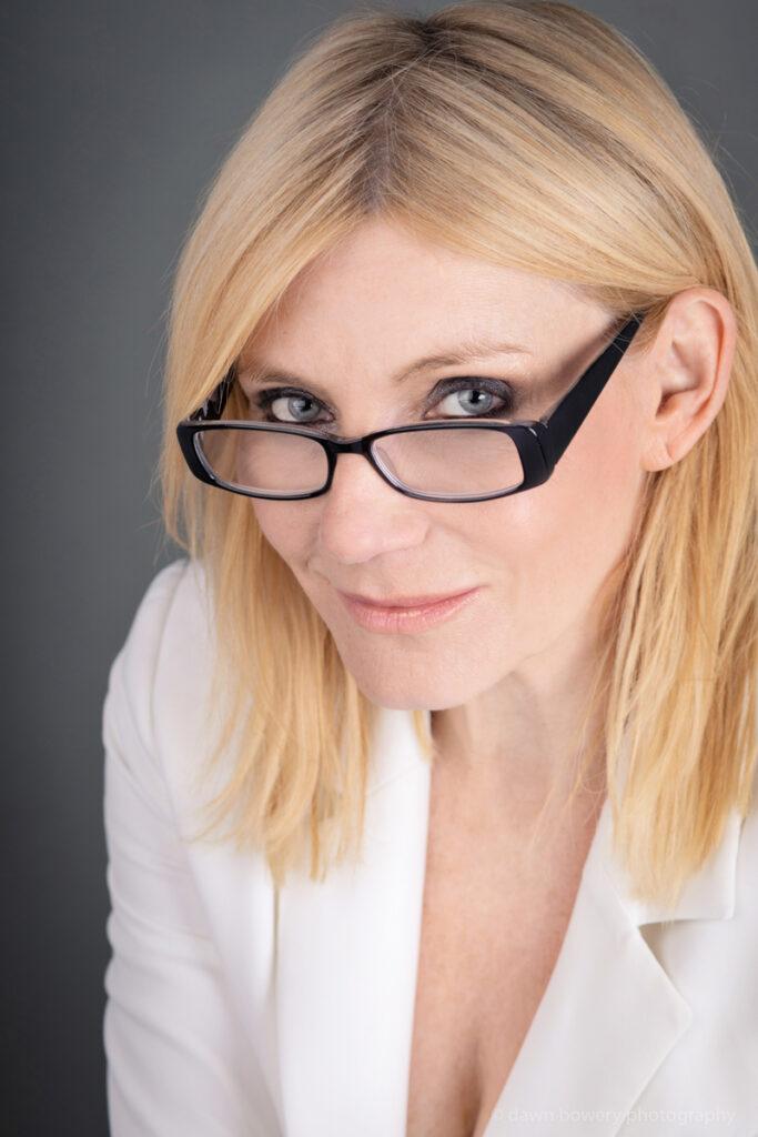 london actress michelle collins studio portrait dawn bowery