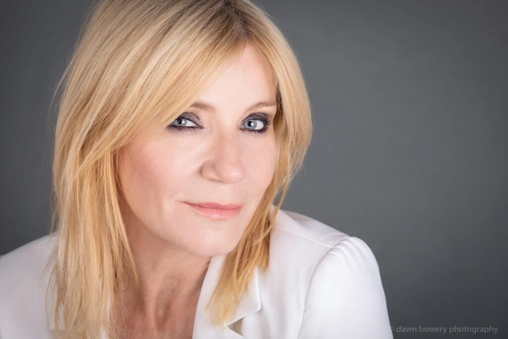 london actor michelle collins studio portrait dawn bowery