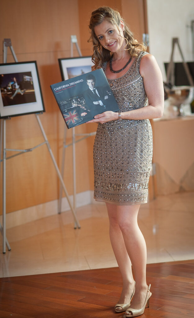 dawn bowery photographer launches book california dreaming real life stories of brits in la book launch