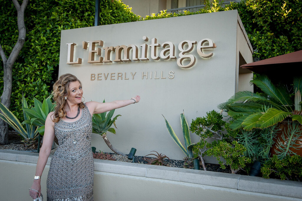 dawn bowery l'ermitage hotel california dreaming real life stories of brits in la book launch