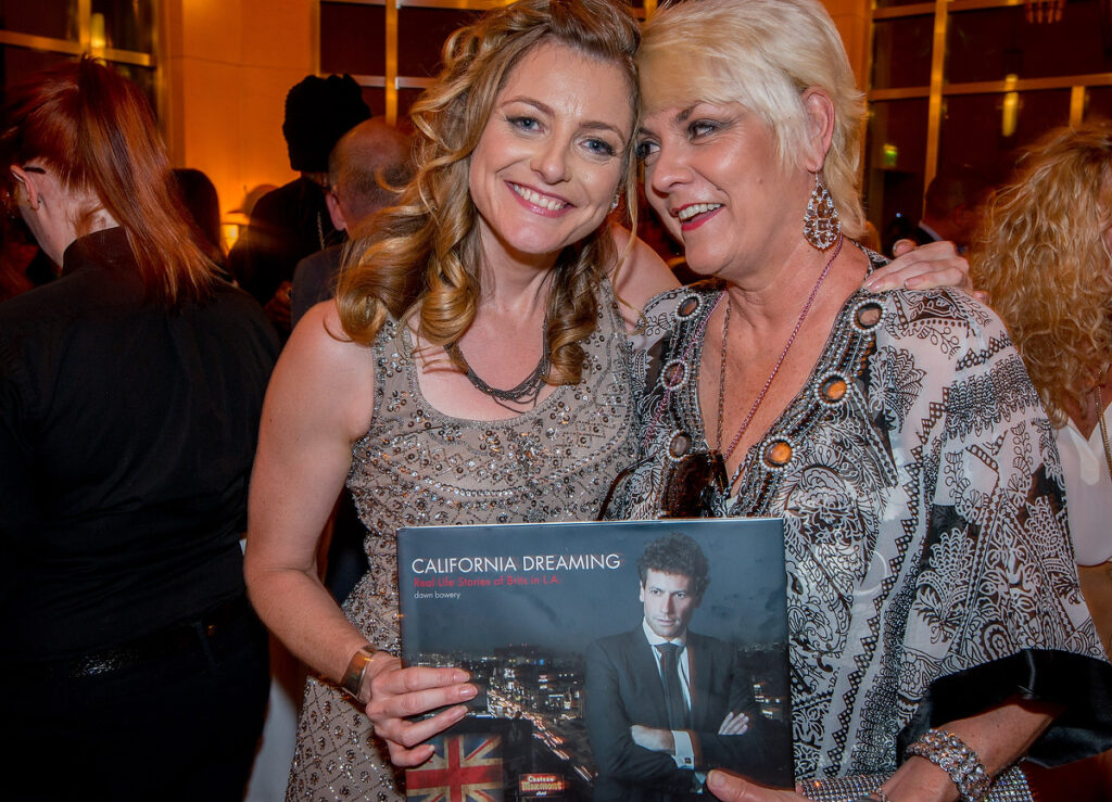 ruth mccartney dawn bowery california dreaming real life stories of brits in la book launch