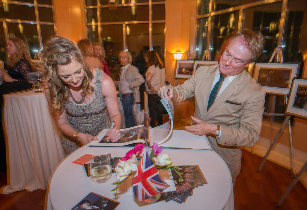 dawn bowery brits in la book signing beverly hills