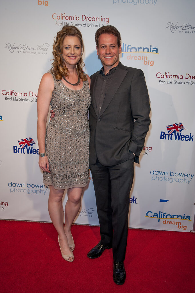 ioan gruffudd dawn bowery california dreaming real life stories of brits in la book launch
